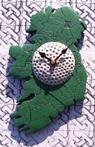 Ireland Golf Clock